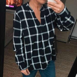 Old Navy Classic Plaid Tunic